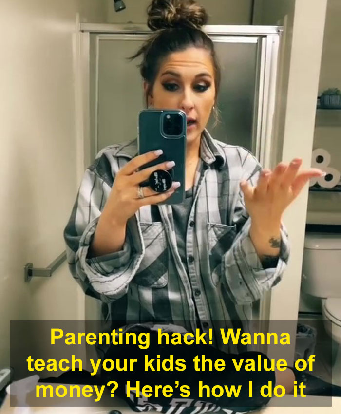Video Of Mom Teaching Her 7 Y.O. Daughter The Value Of Money Gets 1.7M Likes