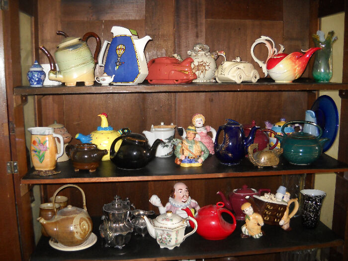 A Few Teapots... Among Other Things