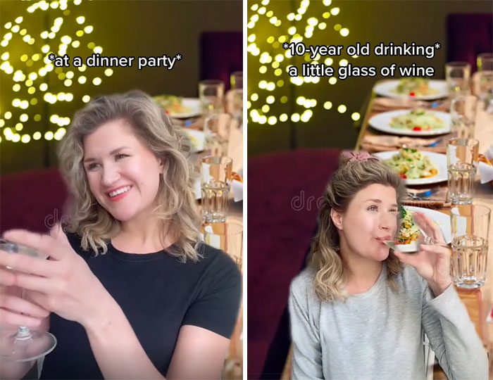 It's Ok For Kids To Drink A Small Glass Of Wine