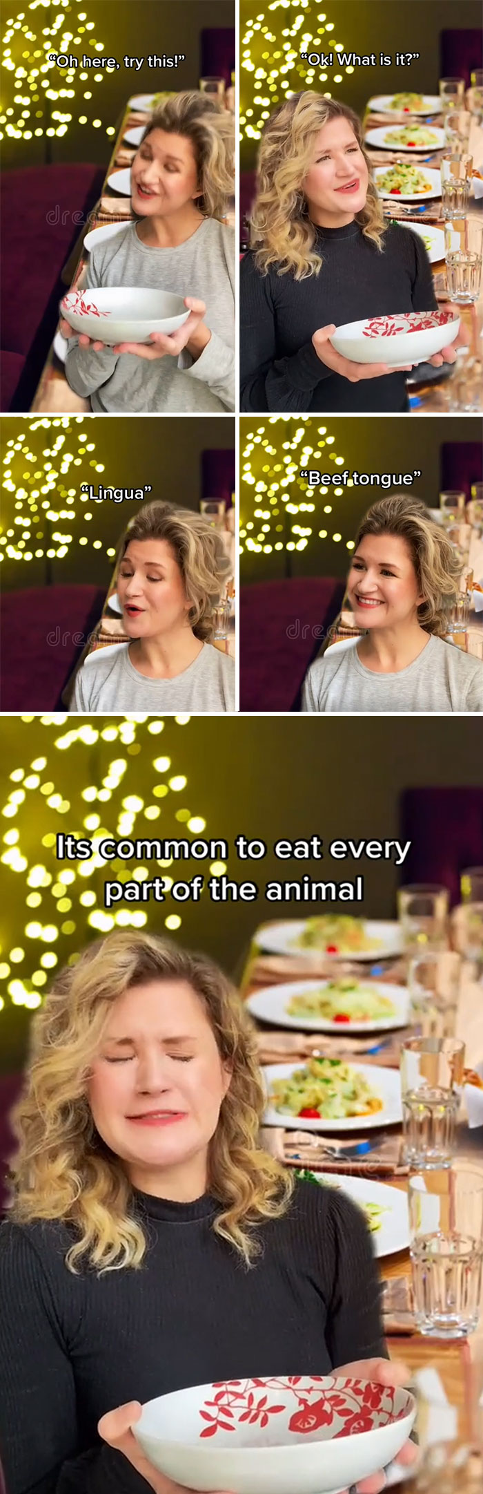 It's Common To Eat Every Part Of The Animal