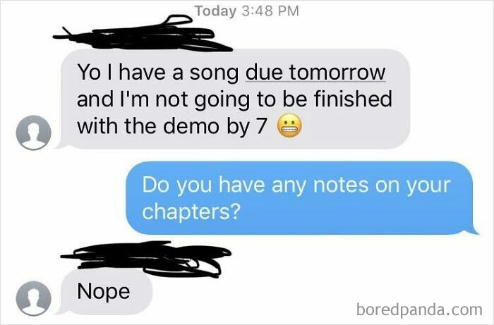 Our Project Is Due Tuesday And She Canceled On Our Group Meeting 1 Hour Before.