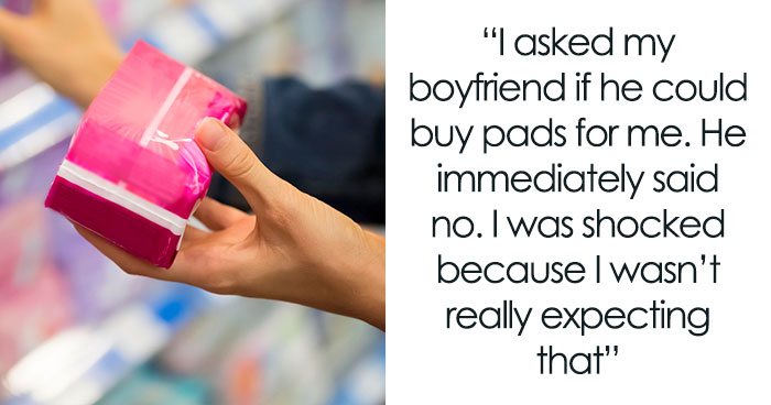 Boyfriend Storms Off After Girlfriend Calls Out His Fragile Masculinity For Refusing To Buy Her Pads