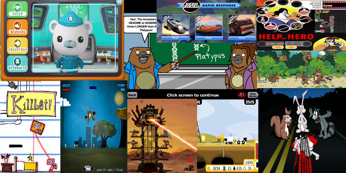 A Selection Of Web Games.