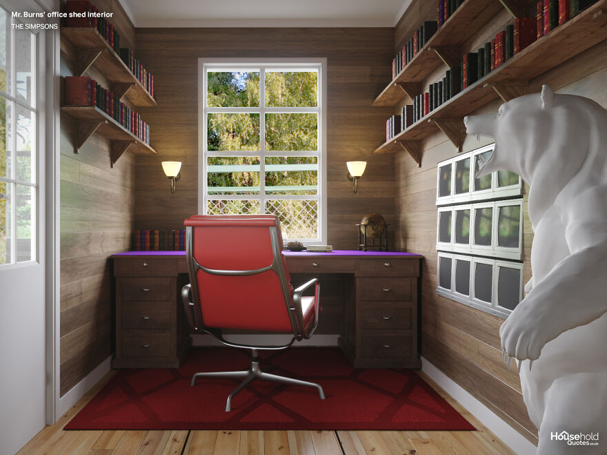 Designers Created Garden Offices Based On Popular TV Shows And Movies