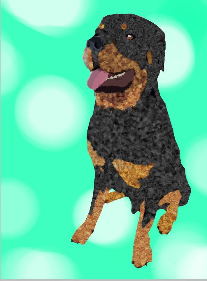 My Freinds Dog