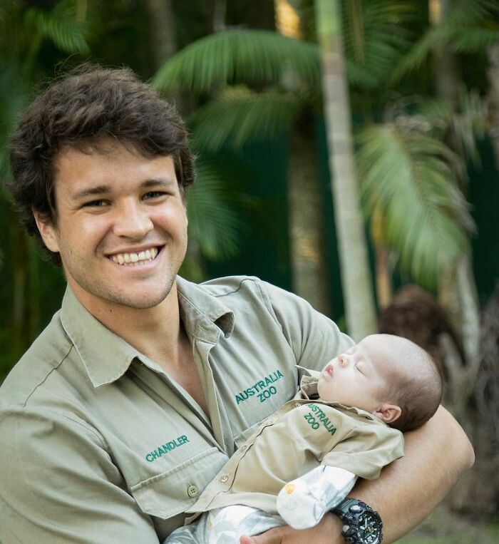 Steve Irwin's Daughter Bindi Gives Her Baby Her First Australia Zoo Khakis