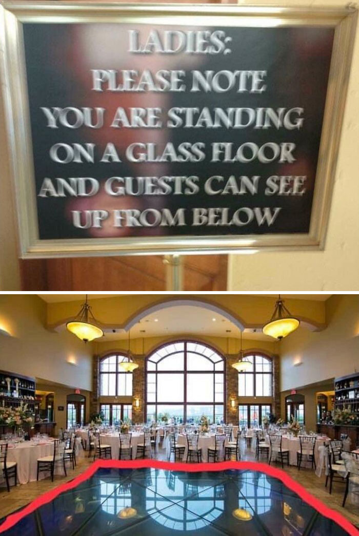 Ballroom Where Everyone Downstairs Can See Up Your Skirt