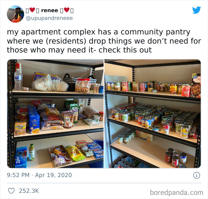 Helping Your Neighbors In Need