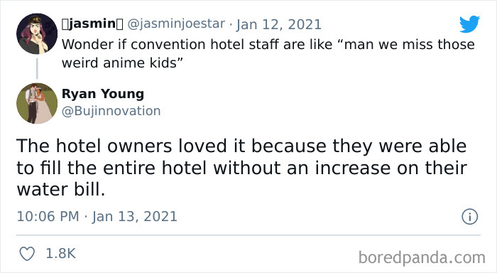 The Hotel Owners Miss Them