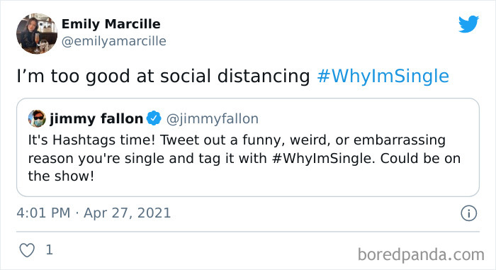 Jimmy Fallon Asks People On Twitter Why They Are Single, And Here Are 36 Of The Best Replies