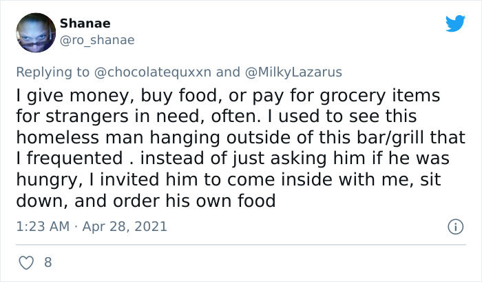 Woman Shares Story Of How A Homeless Man Rejects Her Tea As Charity, Sparks A Debate On Twitter