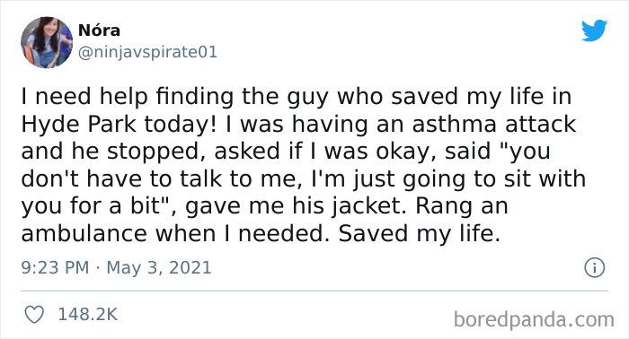 Stranger Saves Girl's Life