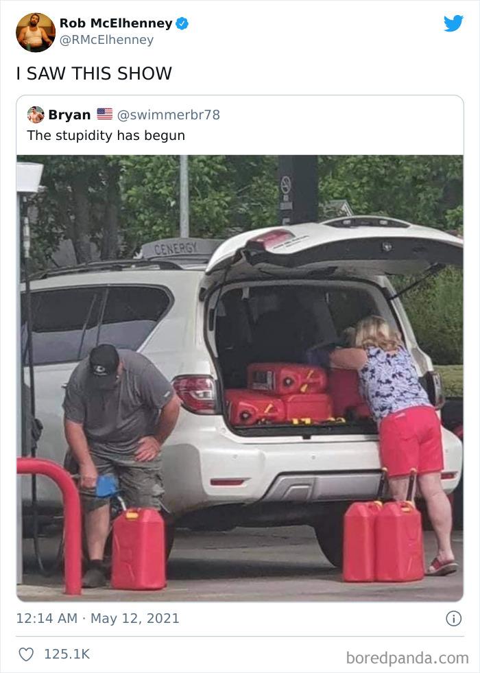 The Stupidity Has Begun