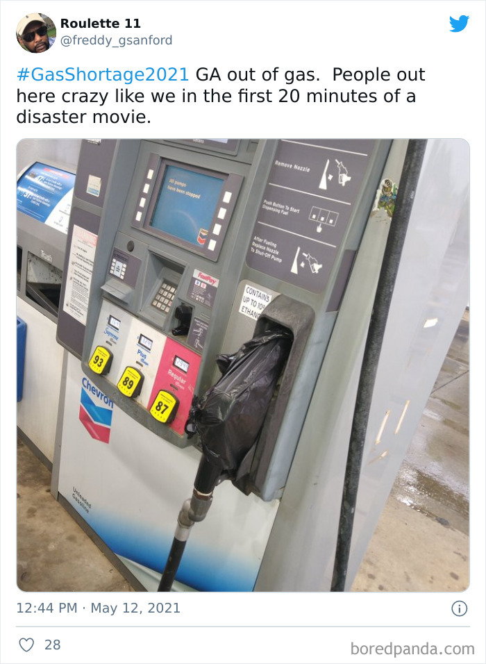 Pumps Have Been Closed