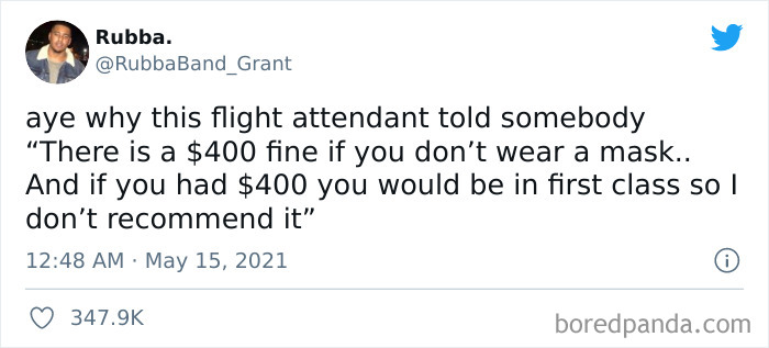 Flight Attendant Has Had Enough
