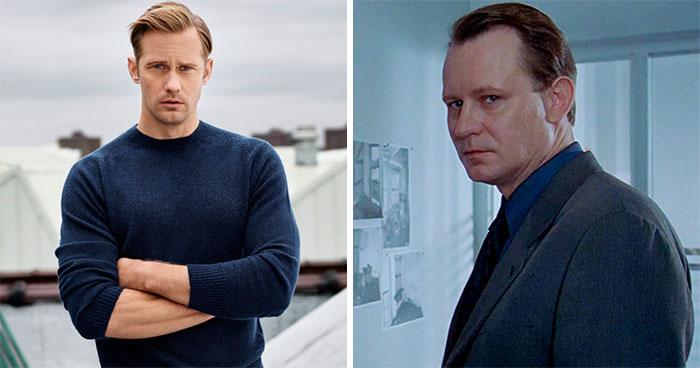 Alexander Skarsgård y Stellan Skarsgård