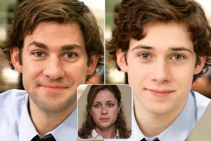 Jim y Pam (The Office / La oficina)