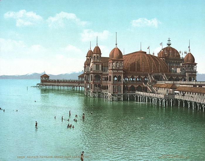 El Pabellón Saltair 1900-1925