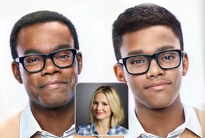 Chidi y Eleanor (The Good Place)