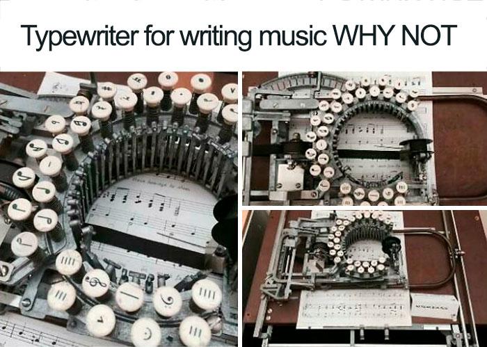 Typewriter For Music