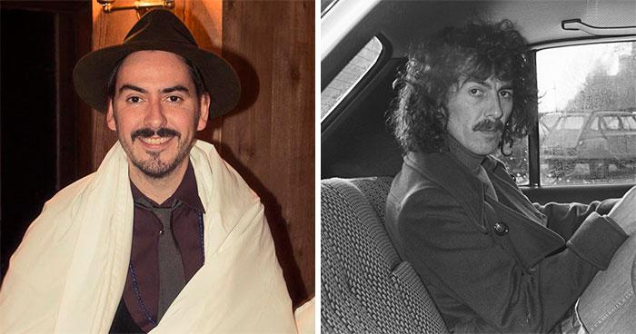 Dhani Harrison y George Harrison