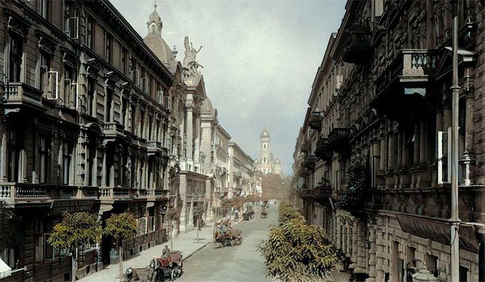 Varsovia, Polonia 1939. No hace falta decir lo que pasó aquí. Una pérdida verdaderamente trágica