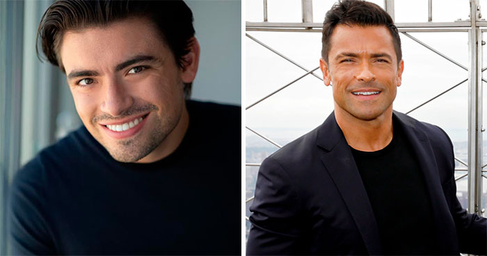 Michael Consuelos y Mark Consuelos