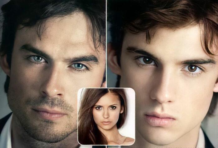 Damon y Elena (The Vampire Diaries / Diarios de vampiros / Crónicas vampíricas)