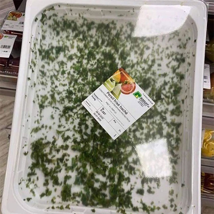 Packaged Chopped Parsley