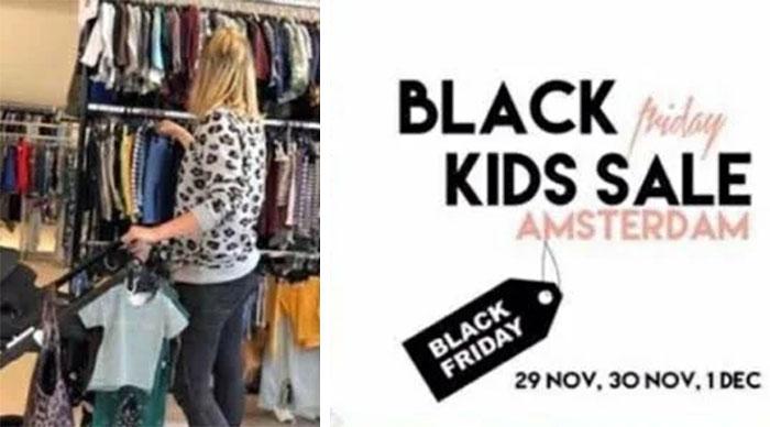 Black Kids Sale Friday Amsterdam