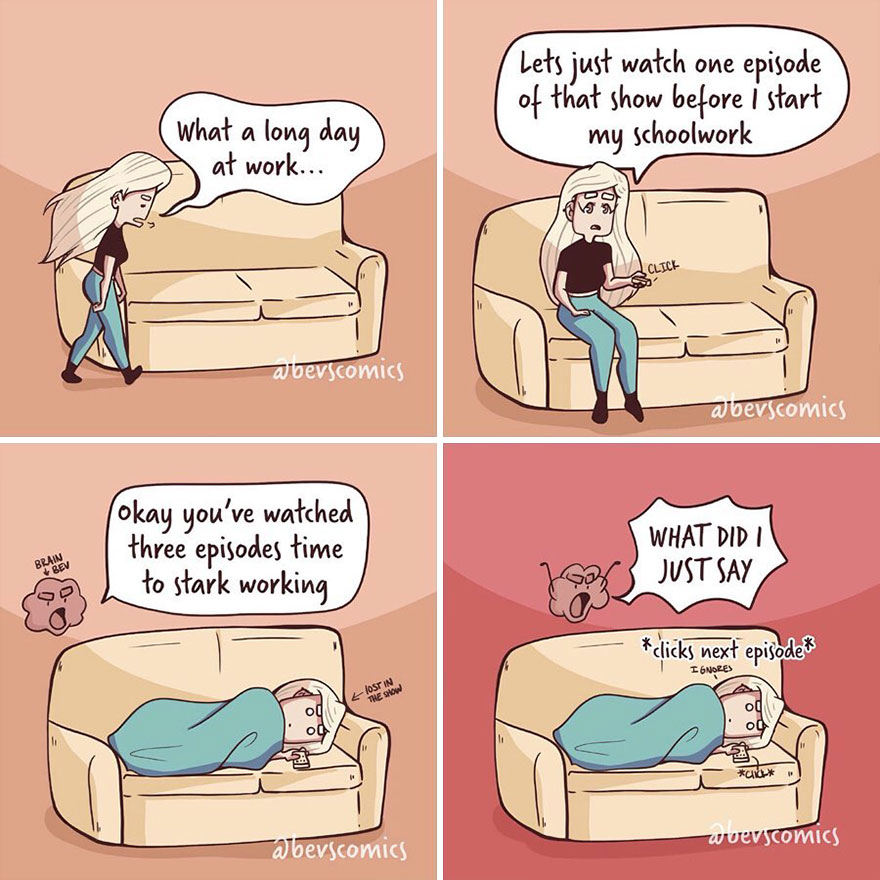This Artist Creates Relatable Comics About Life And Relationships (61 Pics)
