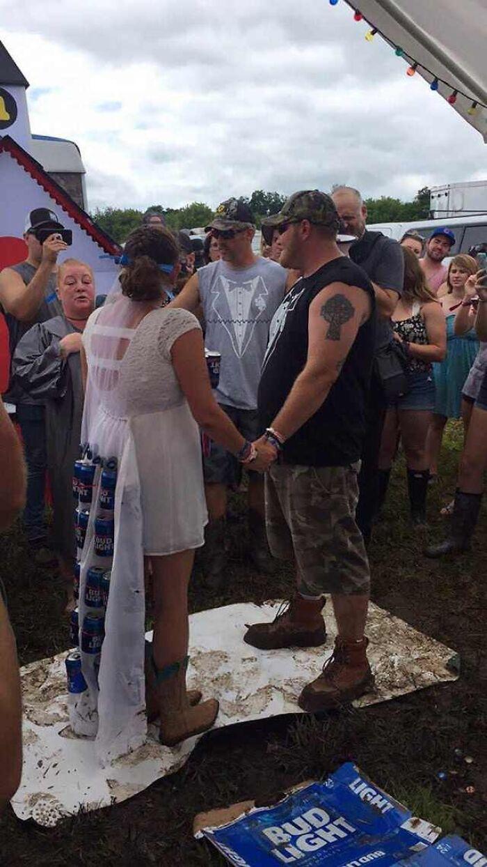 Did Bud Light Sponsor The Wedding?