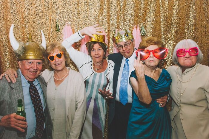 The Grandparents From This Weekend's Wedding. No Words