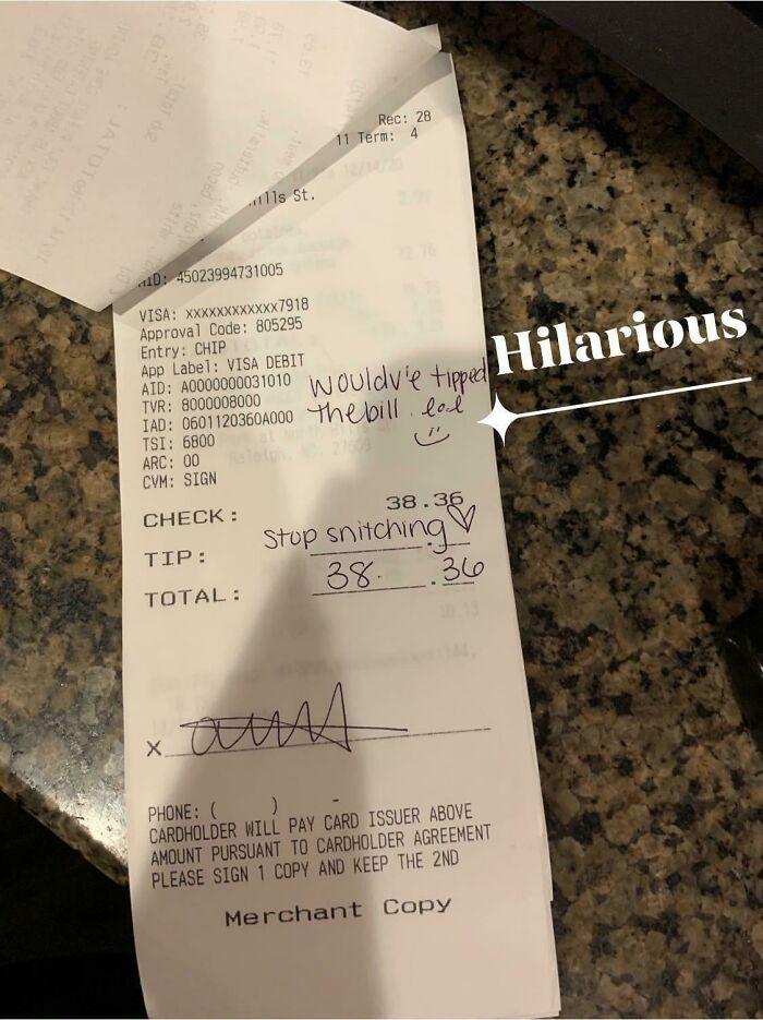 My Friend Waited On Two Underage Kids Who Tried To Order Drinks. Stiffing Servers Has Always Made Someone A Bad Person, But During A Pandemic When Benefits Have Run Out And Restaurant Employees Are Struggling More Than They Already Did? Despicable