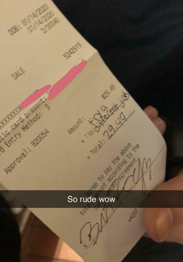 "The ""Tip"" My Friend Got"