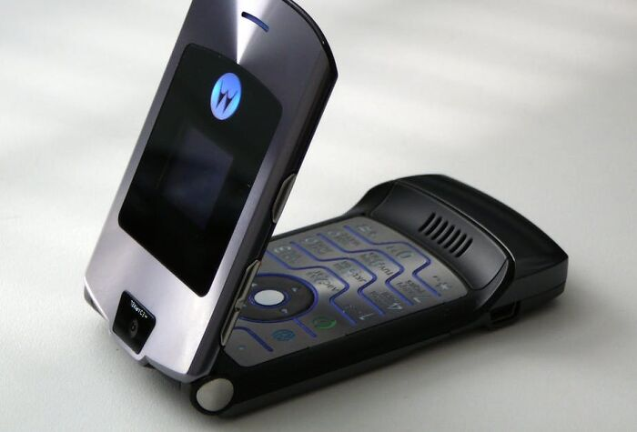 The Motorola Razr. Still The Coolest Cell Phone To Be Produced