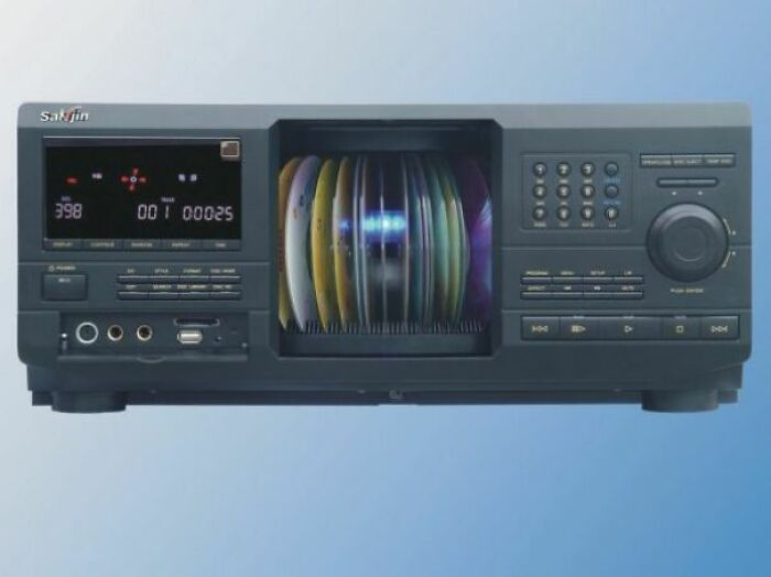Cd Players That Held Multiple Cds At Once