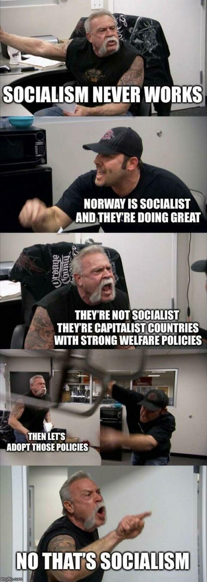 Socialism Not Socialism