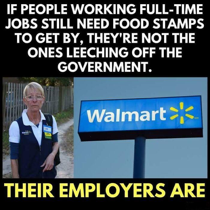 Walmart Welfare
