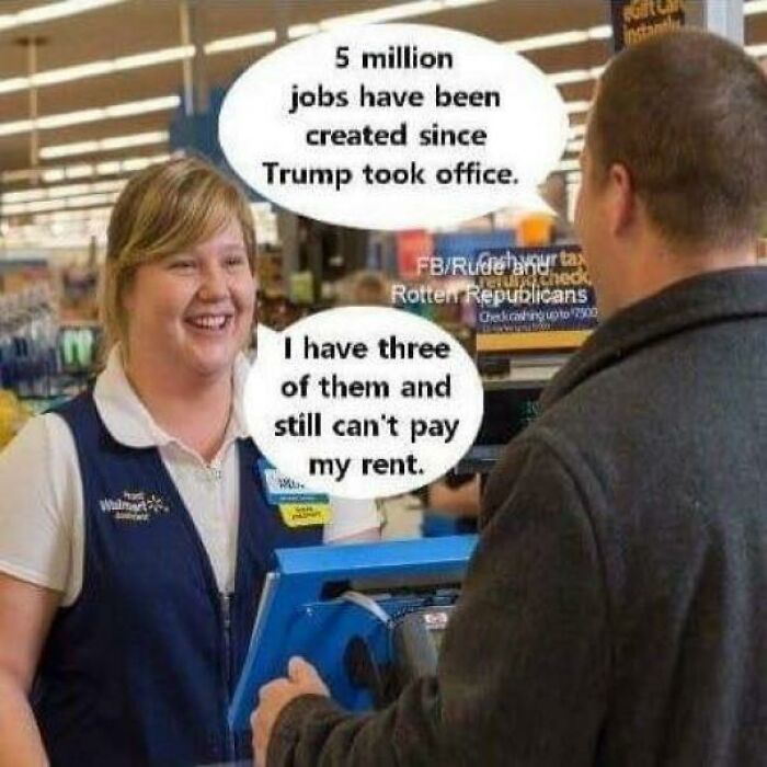 The Economy Is Booming. Jobs Everywhere!