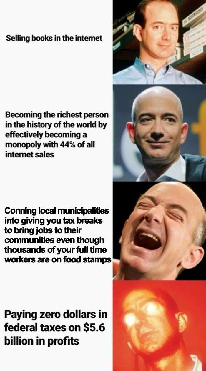 The Evil Of Bezos