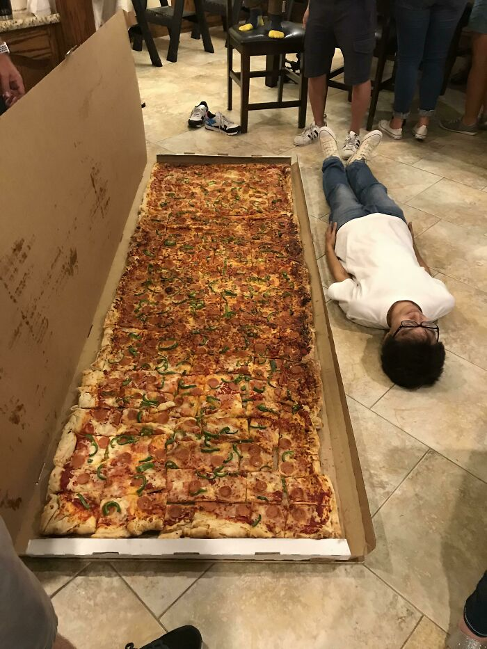 Biggest Pizza That Can Be Ordered In US