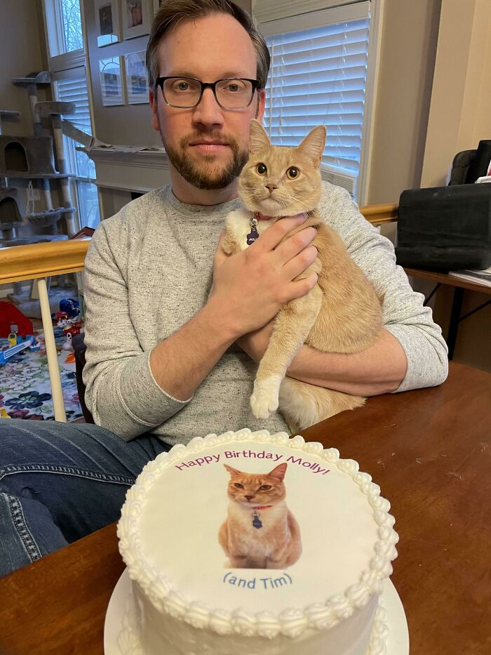 My Husband And Cat Share A Birthday Week