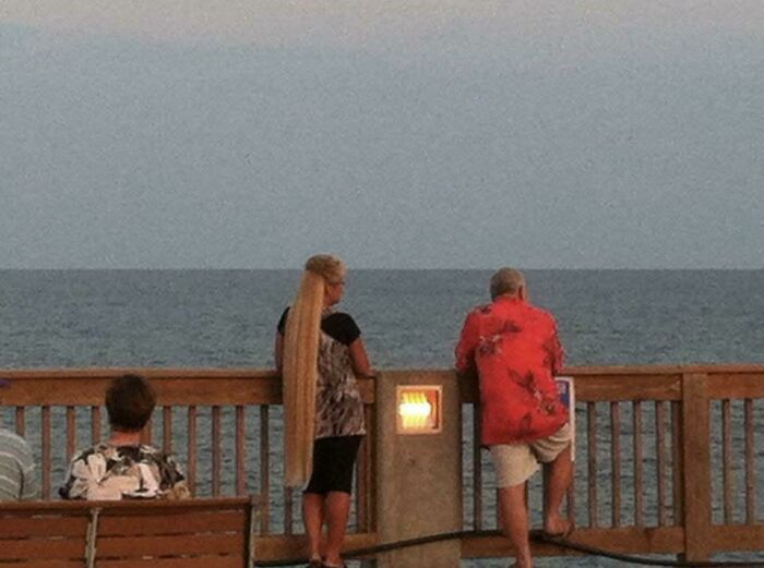 I ,too, Have Crossed Paths With The Magical Mullet.....spotted In Panama City Beach