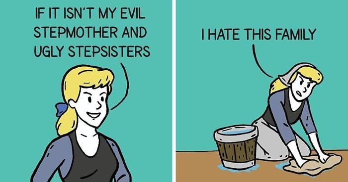 Artist Creates Funny Comics With Unexpected Endings For People Who Love Pop Culture (90 Pics)