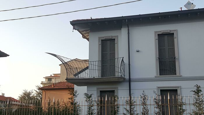 This Pointy Balcony