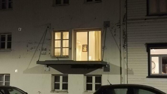 This Unusual Balcony In My Neighborhood