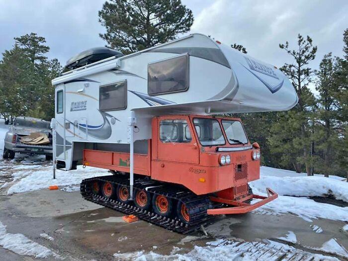 Cómo acampar en el invierno (encontrado en los anuncios locales)