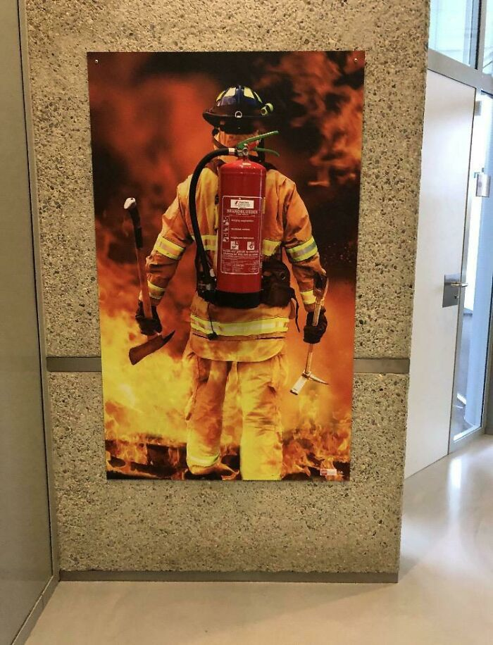 It Looks Nice Sure, But I Didn't Even Know That Was A Real Extinguisher