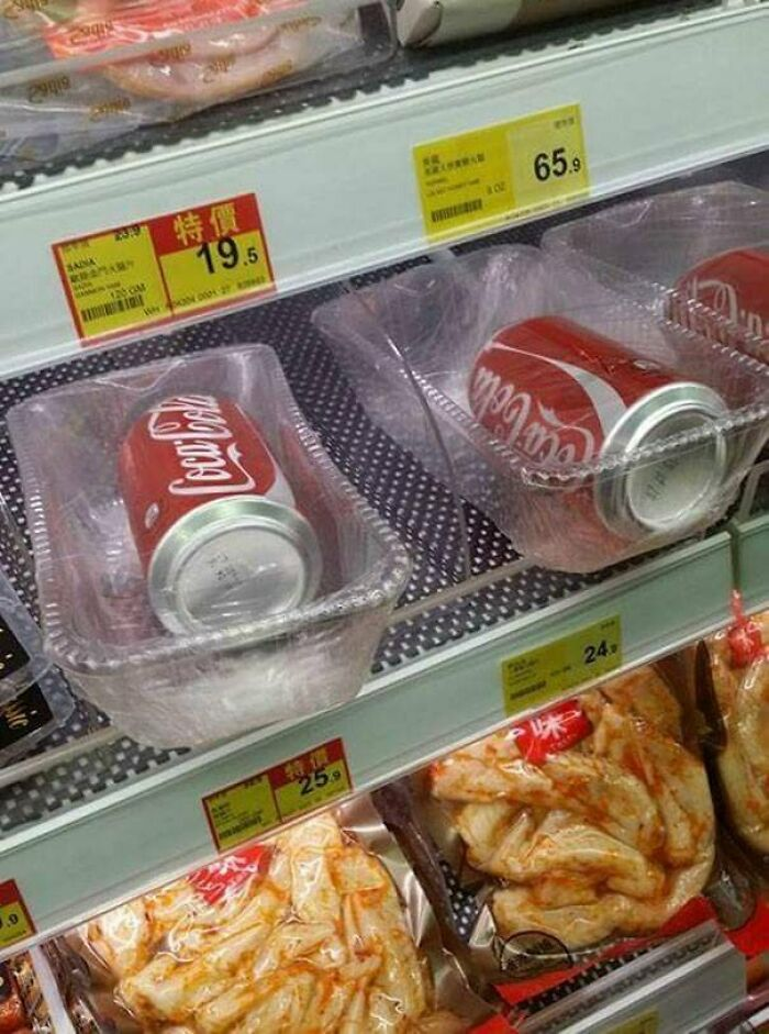 Your Coke Needs That Plastic